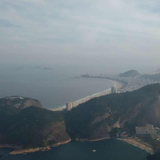 Rio de Janeiro do alto lindo