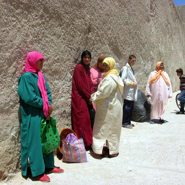 Street in Essaouira in Morocco