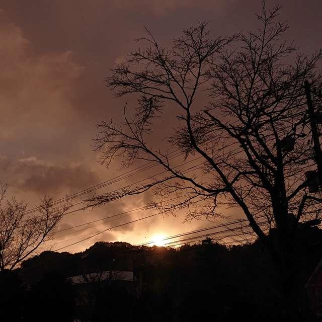 日光の日の出