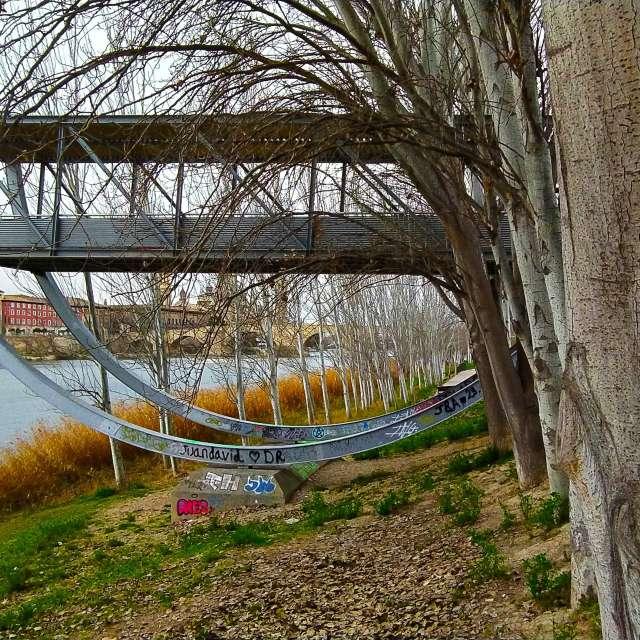 Mirador de la rivera del Ebro