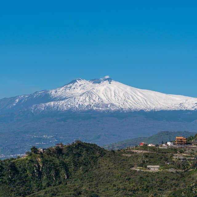 Sunny Day at Mt. Etna Sicily