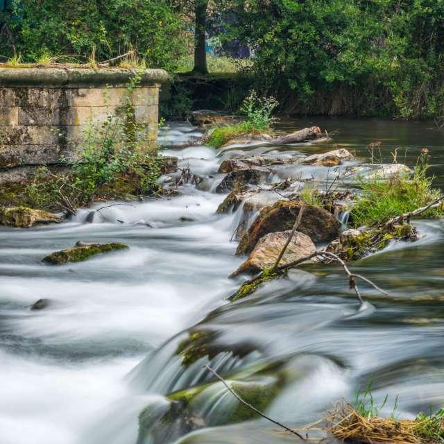 Río Sil en Ponferrada