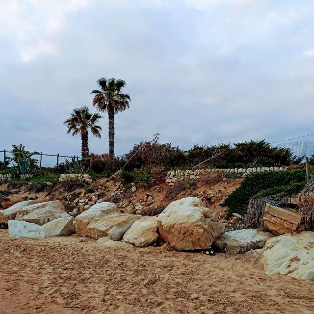 La spiaggia di Montalbano