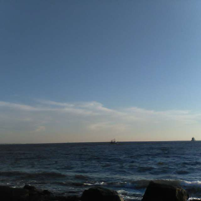 Looking to the Ledge Light