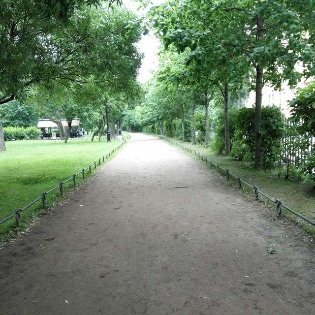 Лето, Александровский парк