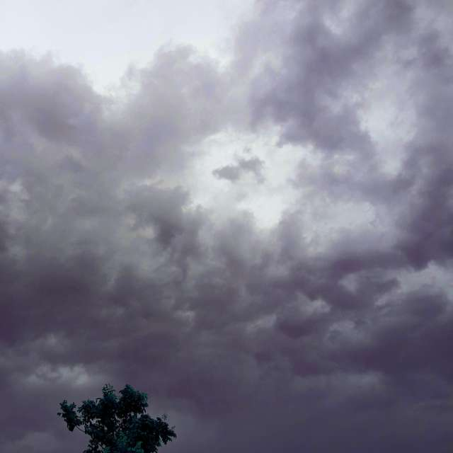 scatered clouds