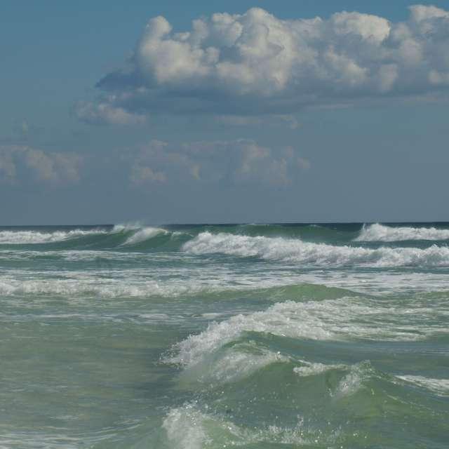 Partly Cloudy Destin Beaches