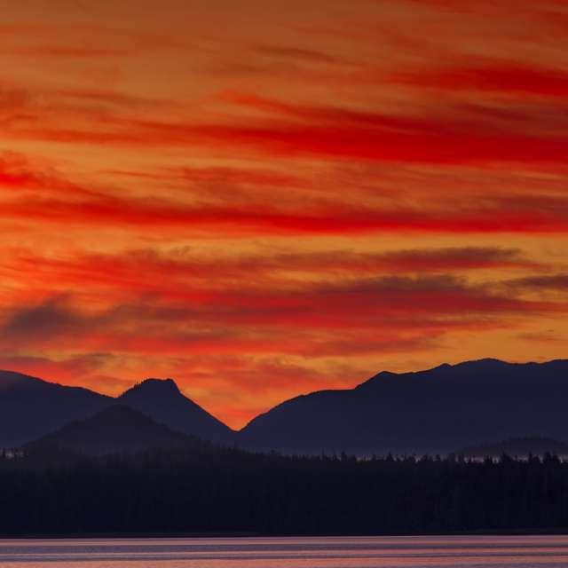 Sunrise, West Vancouver Island