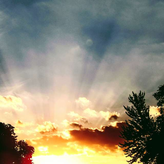 Beautiful Cloud Show/Sunset 3