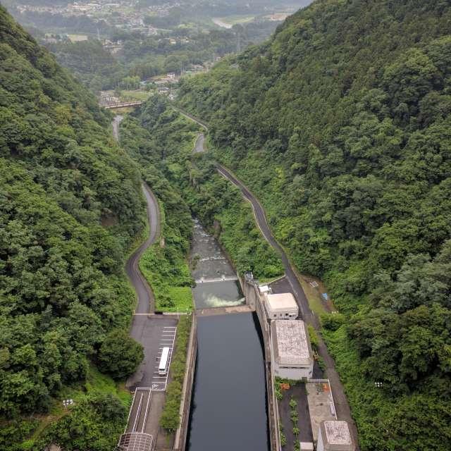 落水道の絶景