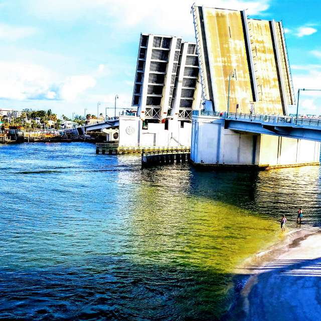Treasure Island drawbridge