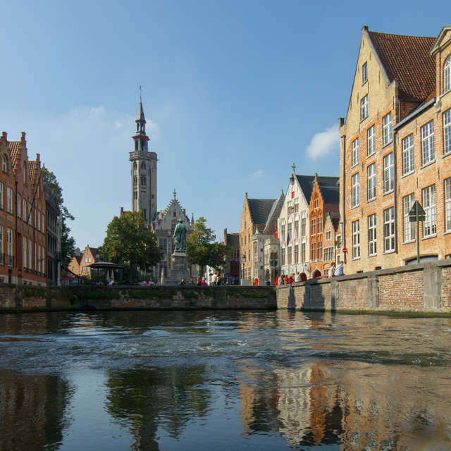 Channel in Bruges