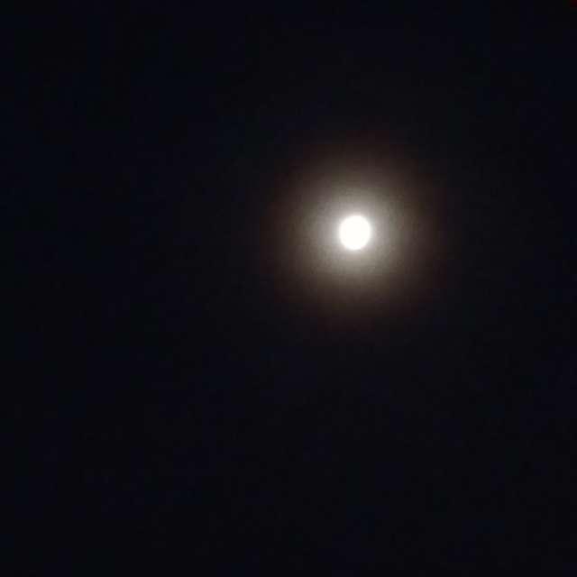 3/'20 Full Moon w/ spring ring