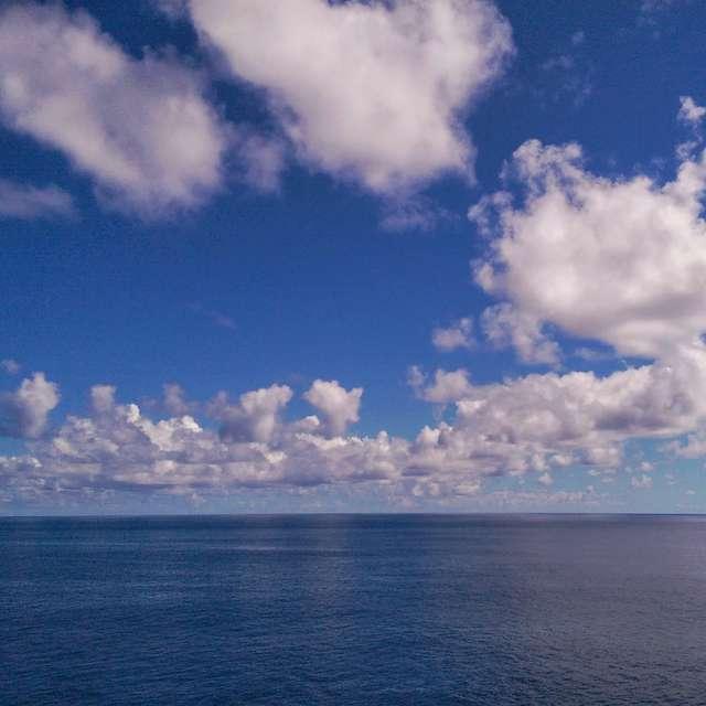 Sky like painting