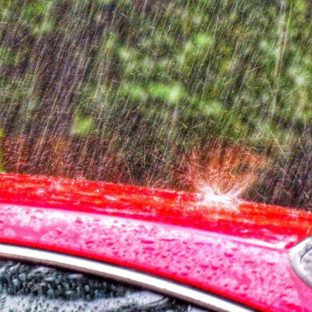 Raindrops -Rainy Weather
