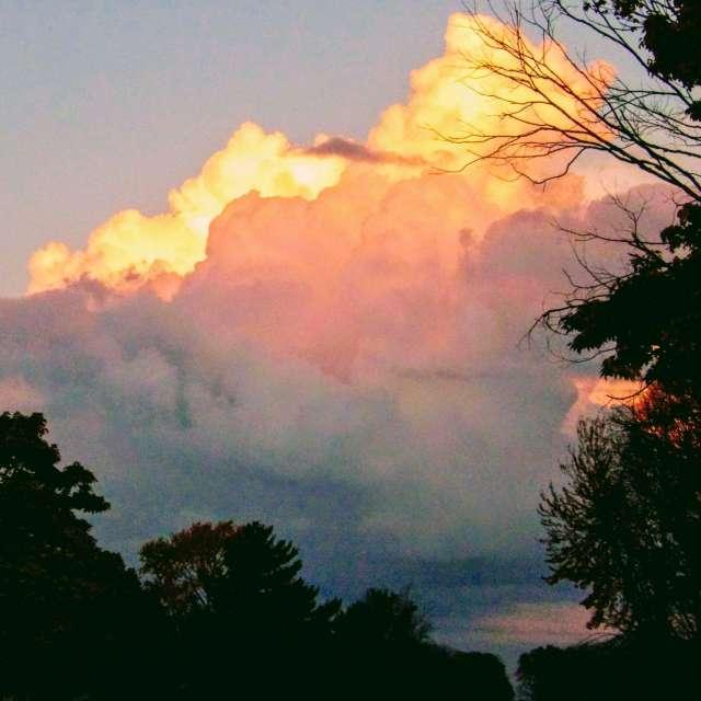 Storm Clouds at Sunrise