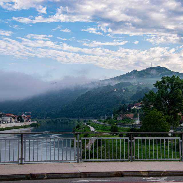 Sremič in the fog
