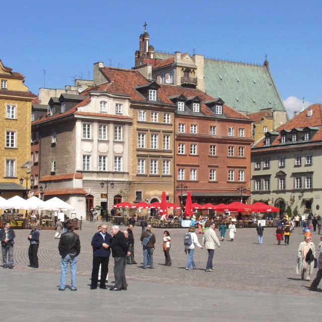 Old Town Market Square, Warsaw