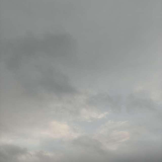 早朝、雲☁️