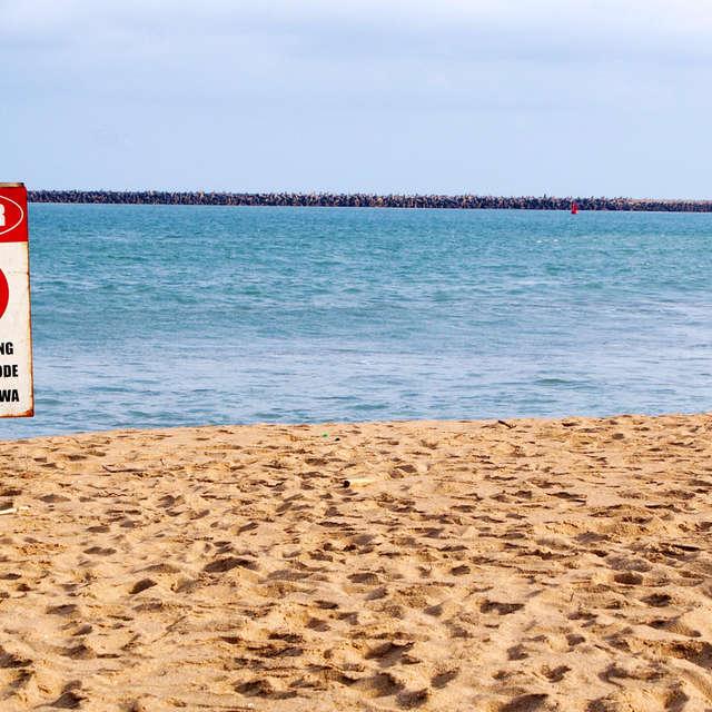 Beach No Swimming