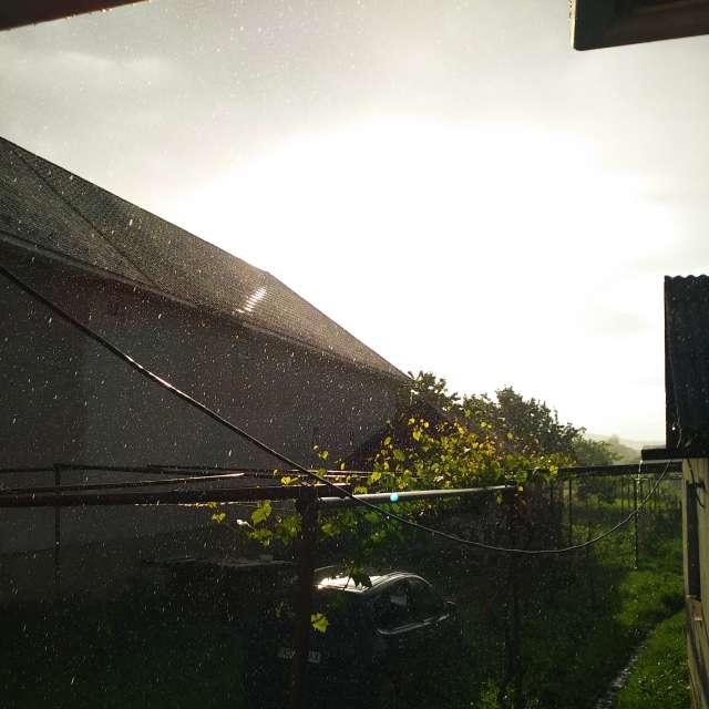 Sun + rain 🌞☔