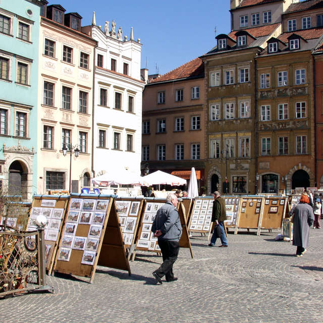 Old Town in Warsaw Poland