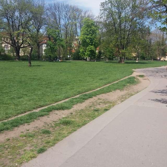 Procházka parkem...