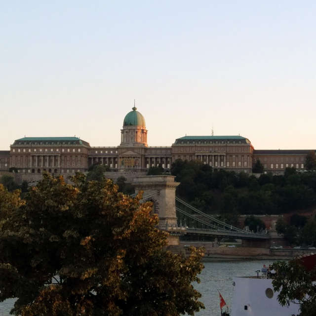 Royal castle in Budapest