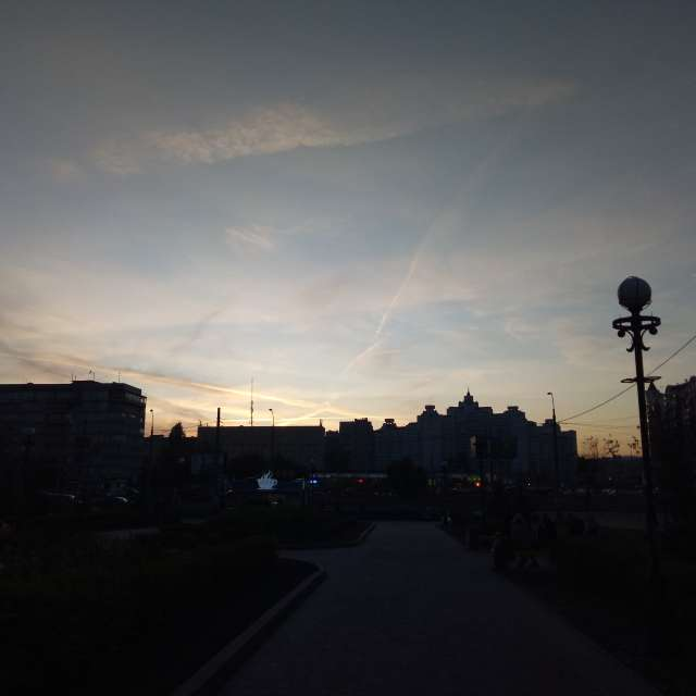 Киев вечер