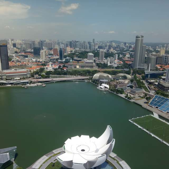 Marina Bay Hotel View
