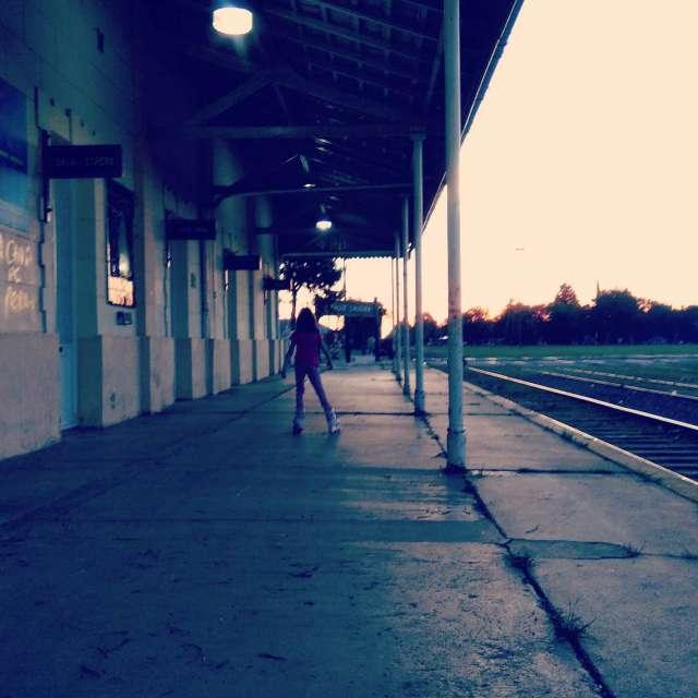 Ciudad vías estación