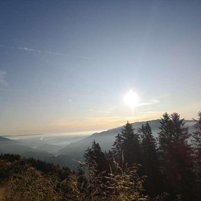 Morning view / Kašna planina