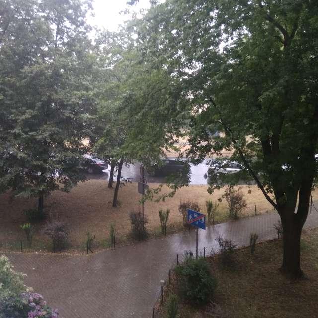 Pochmurno i deszczowo