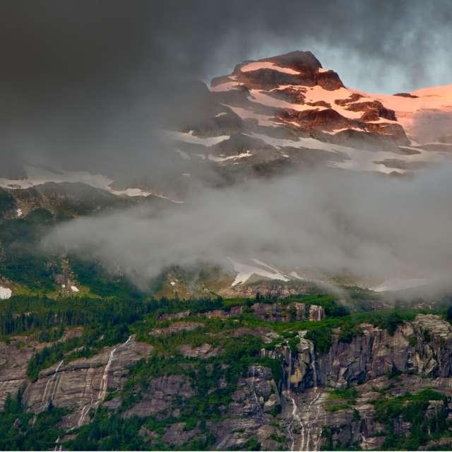 Sunrise on Peak, Squamish, BC