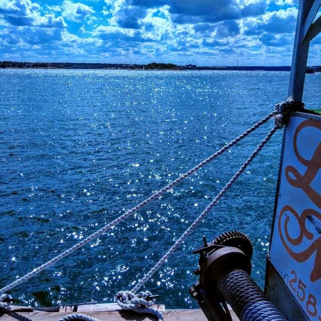 Dockon lake Travis
