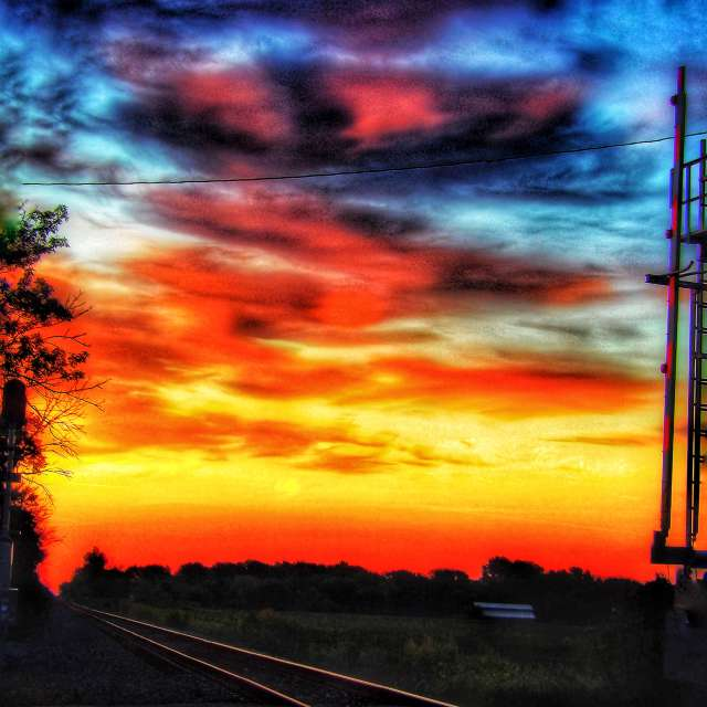 Morning by The Tracks