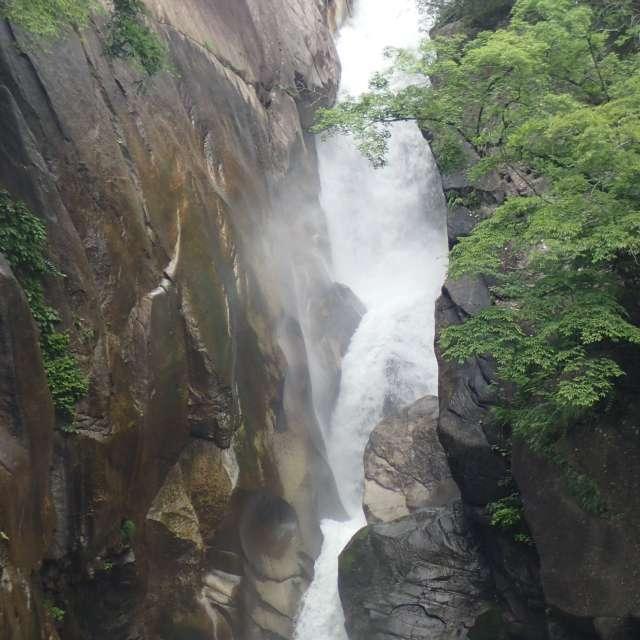 昇仙峡 5月の滝