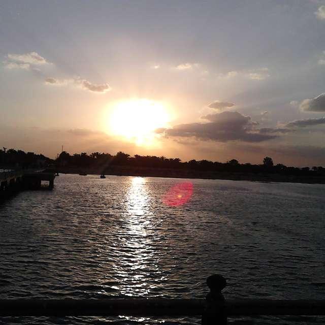 Sunset at Egypt