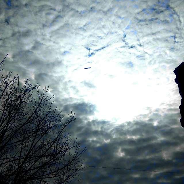 Volando entre nubes