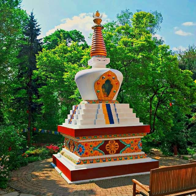 Buddhistischer Schrein-GER-