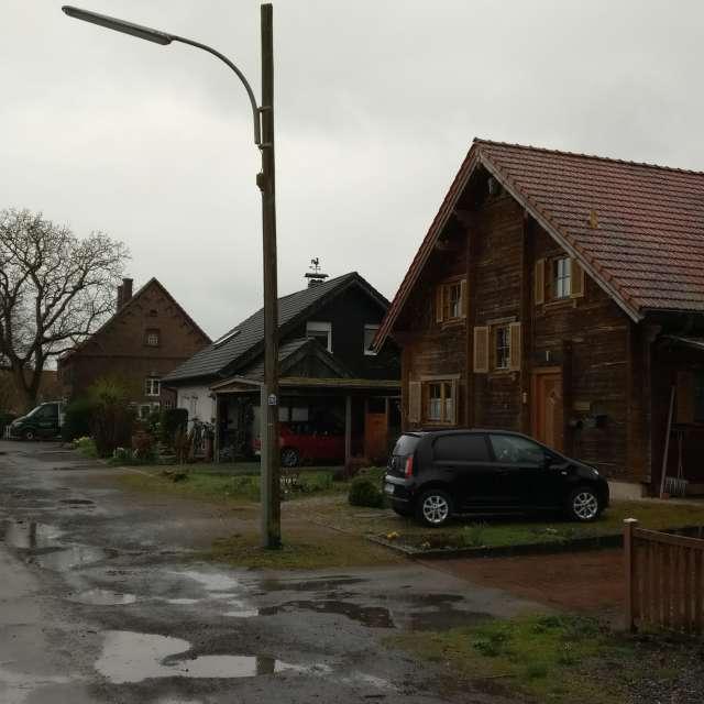 Regen in Rinkerode