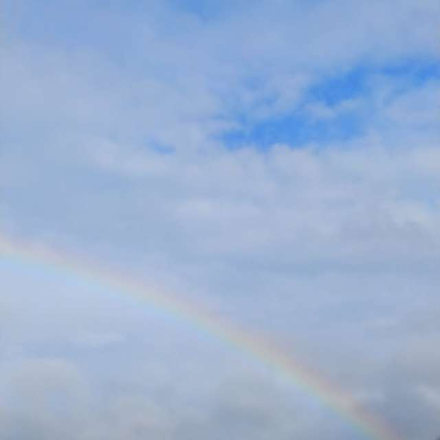 雨上がりの虹🏳️🌈パート2