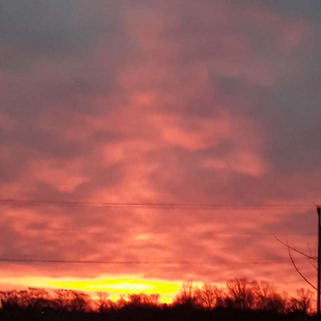 Sunrise in Salem County