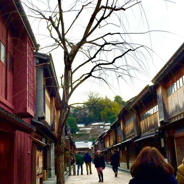 風情ある古い町並み