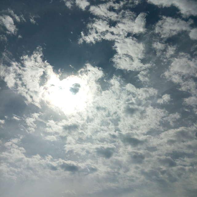 曇のち晴れ