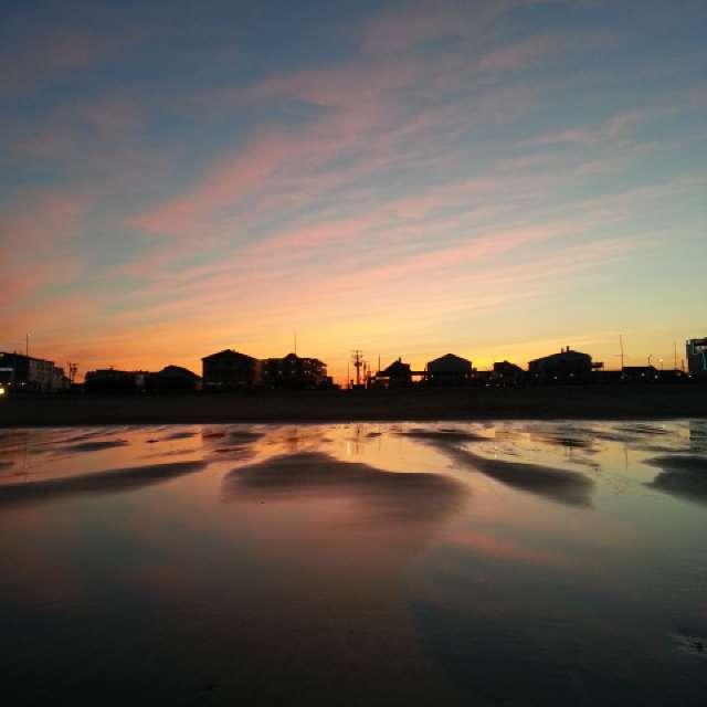 2nd photo, Spring Beach walk