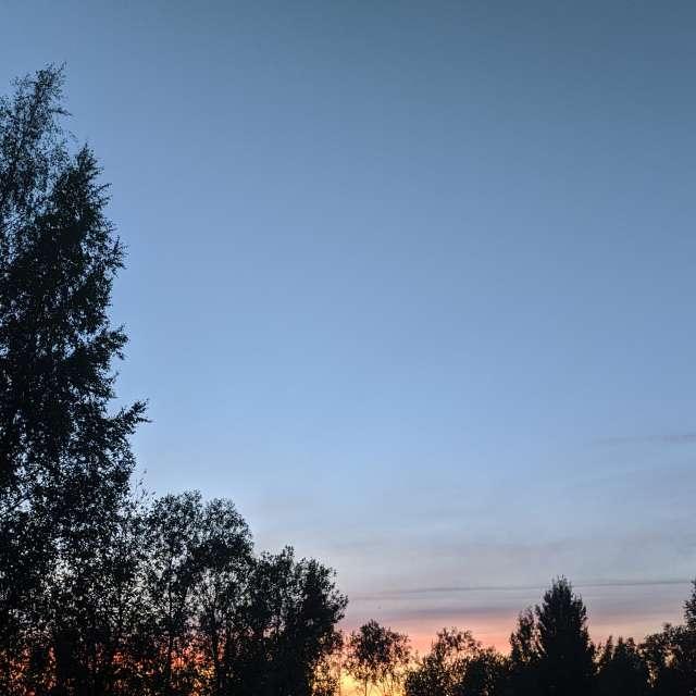 Закат в Шеломово