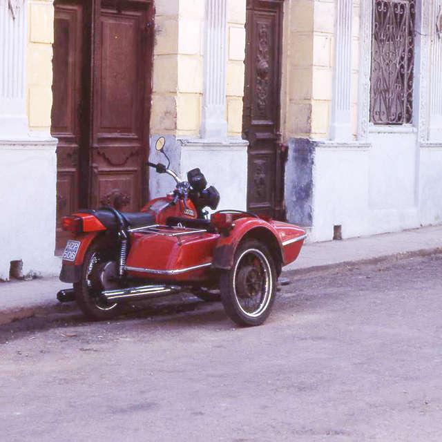 ハバナのサイドカー