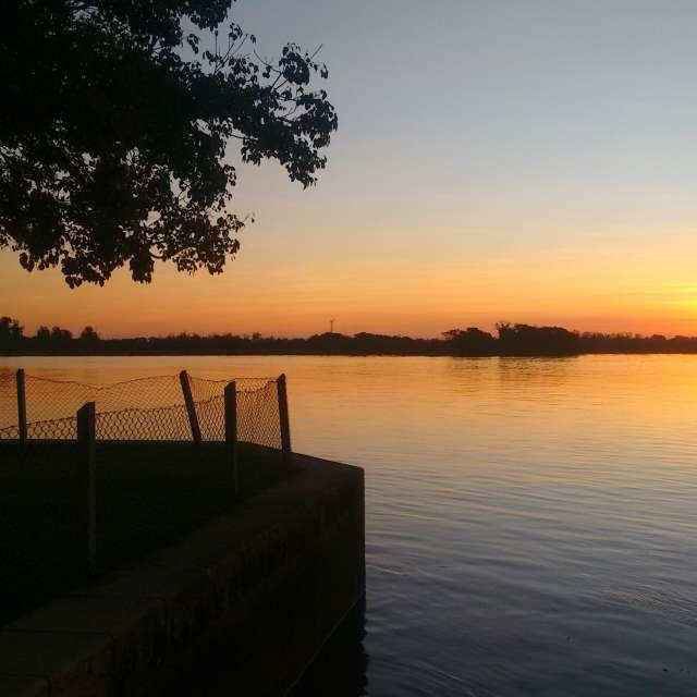 Sunset Guaíba River