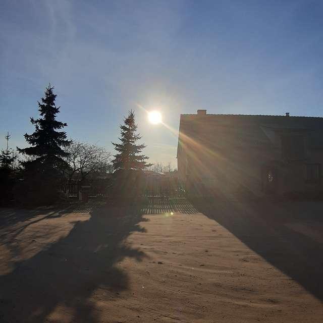 Sunrise, beautiful carmel sand